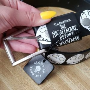 NWT Disney Nightmare Before Christmas Belt Size 34